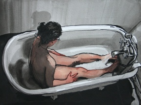 Sarah's Bath Time III