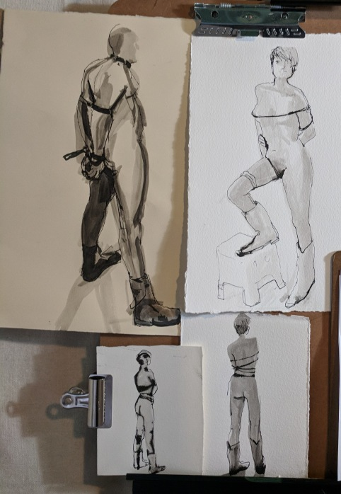 Deviant Life Drawing Sketches