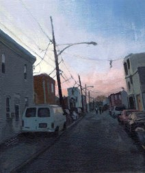 View of a city street