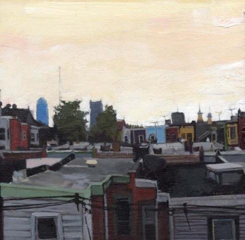 View of Philadelphia Skyline