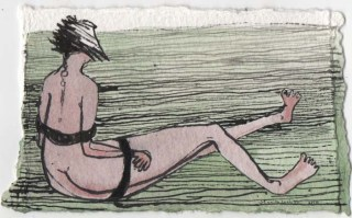 Tied up Woman in a Field