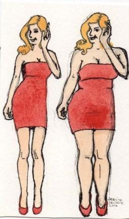 model body