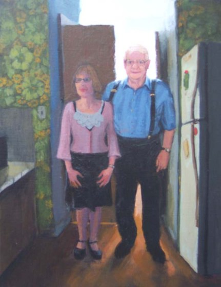 Older Couple, Clothed