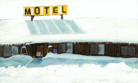 A Snowed-In Motel