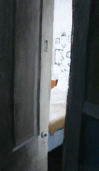 Peeking into a Room Through the Door