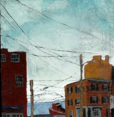 View of two Philadelphia buildings