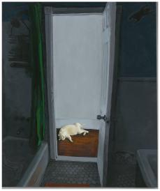 "Riley's Ghosts Acrylic 12"" x 10"""